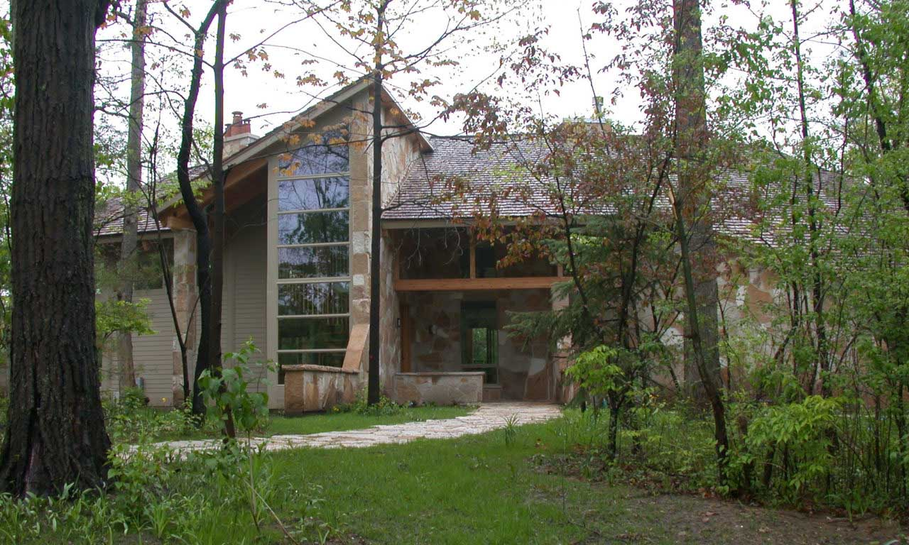 Oak Brook Passive Solar Residence