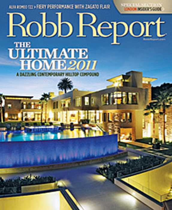 Exceptional Properties, Robb Report - May June 2011