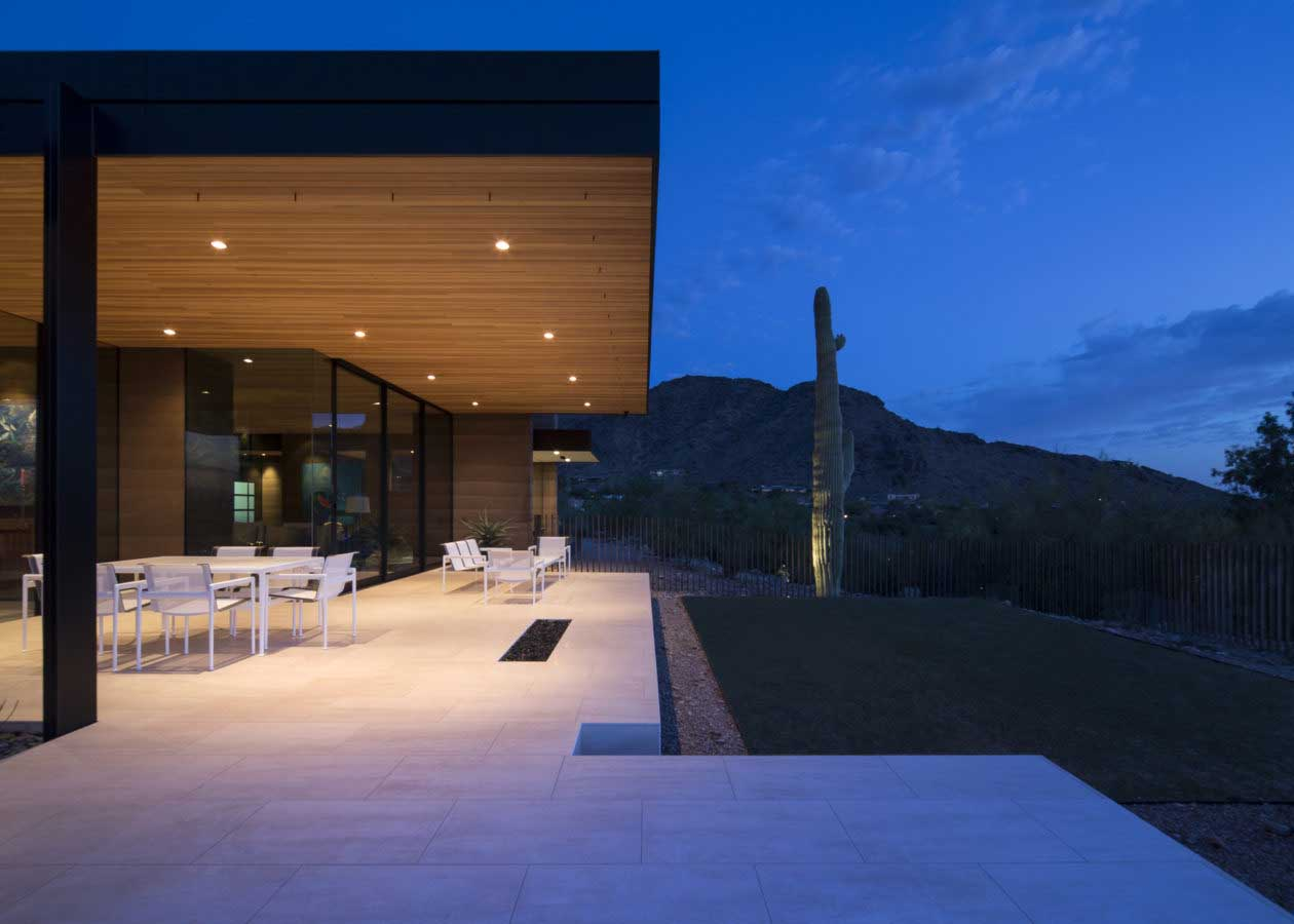 Rammed Earth Modern-Custom Home