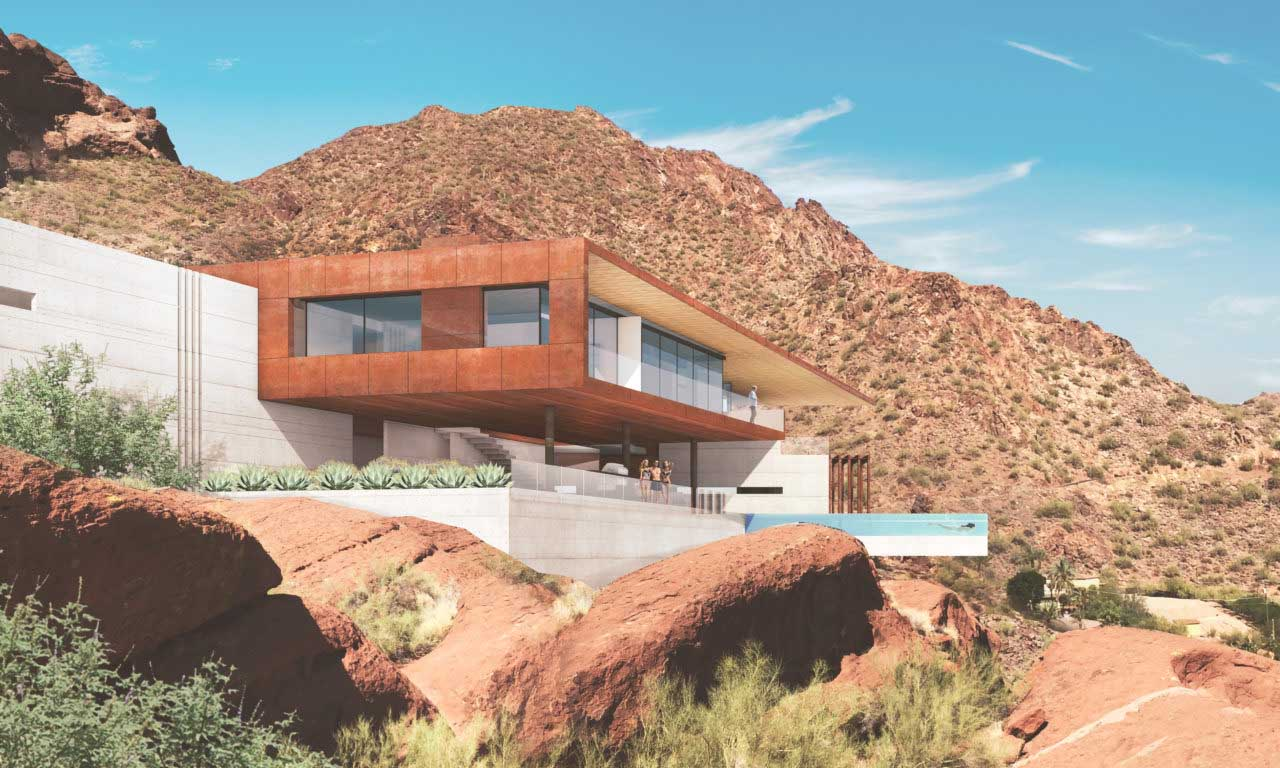 Red Rock Residence Kendle Design Collaborative